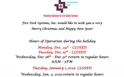 Hours of Operations during Christmas Holiday